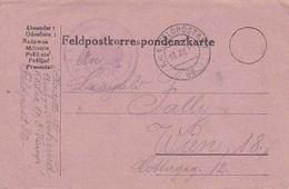 Feldpostkarte - LIR 17 Nach Wien - 1915 (38773) - 1850-1918 Imperium