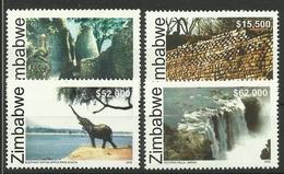 ZIMBABWE 2005  WORLD HERITAGE SITES SET MNH - Zimbabwe (1980-...)