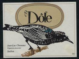 Rare // Etiquette De Vin // Oiseaux // Dôle, étourneau - Etiquettes