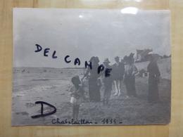 17 CHATELAILLON PLAGE ENFANT 1911 PHOTO - Châtelaillon-Plage