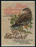 Rare // Etiquette De Vin // Oiseaux // Rosé De Gamay, Le Busard - Etiquettes