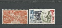 INDOCHINE Scott C19**, C26* Yvert PA39**, PA48* (2) ** Et * 5,75 $ 1946-49 - Indochine (1889-1945)