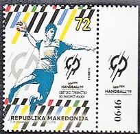 MACEDONIA, 2019, SPORT WORLD HANDBALL CHAMPIONSHIP GERMANY DENMARK ** - Handball