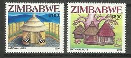 ZIMBABWE 2006 HUTS SET MNH - Zimbabwe (1980-...)