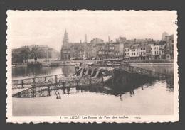 Liège - Les Ruines Du Pont Des Arches - éd. Phototypie Légia - Carte Dentelée - Liege