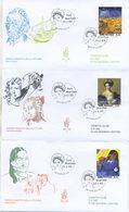 SAN MARINO - FDC VENETIA  2003 - GRANDI MAESTRI DELLA PITTURA - ARTE - VIAGGIATE - FDC
