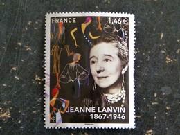 FRANCE YT 5170 OBLITERE CACHET ROND MANUEL - JEANNE LANVIN - France