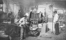 Coulée De Bronze D' Aluminium Par Le Procédé Durville 1926 - Non Classés