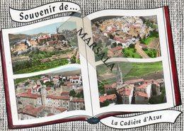CPSM La Cadière D'Azur Multivues - France
