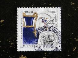 FRANCE YT ???? OBLITERE CACHET ROND MANUEL 2018 - METIERS D ART CERAMISTE - France