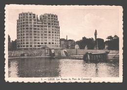 Liège - Les Ruines Du Pont De Commerce - éd. Phototypie Légia - Carte Dentelée - Liege