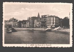 Liège - Les Ruines De La Passerelle - éd. Phototypie Légia - Carte Dentelée - Liege