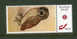 Persoonlijke Postzegel UIL HIBOU Dürer - België