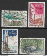 Réalisations Techniques-N°1203 à 1206-Oblitérés - France