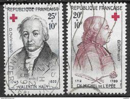 Au Profit De La Croix Rouge-N°1226/1227-Oblitérés - France