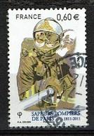 Pompier Lance N°4583 Oblitéré Année 2011 - France