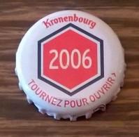 France Capsule Bière Crown Cap Beer Kronenbourg Les Années Qui Comptent 2006 - Bière