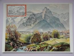 CARTE MAXIMUM CARD OBERAMMERGAU ALLEMAGNE - [7] République Fédérale