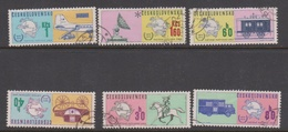 Czechoslovakia SG 2184-2189 1974 UPU Centenary, Used - Czechoslovakia