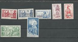 ININI Scott 42-43, B6-B8, CB1, CB3 Yvert 29-30, 48-50, PA1, PA3 (7) ** Et * 14,50 $ 1939-42 - Inini (1932-1947)