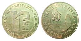 03250 GETTONE TOKEN FICHA ADVERTISING TRADE & BUSINES ASSOCIATION HANDELS UND GEWERBEVEREIN NEUESTEIN E.V. - Allemagne