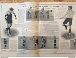 1906 HOCKEY SUR GAZON - L'ART D'ESQUIVER LES RÈGLES AU HOCKEY - Livres, BD, Revues