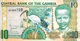 Gambia 10 Dalasi, P-26a (2006) - UNC - Gambia