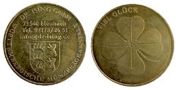02523 GETTONE TOKEN FICHA ADVERTISING VIEL GLUCK TALER DR. ISING - Allemagne