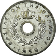Monnaie, Grèce, 10 Lepta, 1959, TTB, Aluminium, KM:78 - Grèce