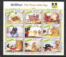 """St. Vincent  1992 Walt Disney Short Film """"The Three Little Pigs""""   MNH - St.Vincent (1979-...)"""