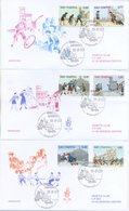SAN MARINO - FDC VENETIA  2003 - AMARCORD  - GIOCHI DI BIMBI - VIAGGIATE - FDC