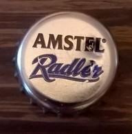 Pays Bas Capsule Bière Crown Cap Beer Amstel Radler Avec Marques De Décapsuleur SU - Bière