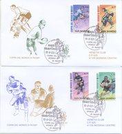 SAN MARINO - FDC VENETIA  2003 - RUGBY - SPORT - VIAGGIATE - FDC