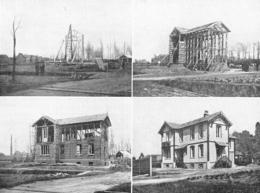 Construction D'une Maison En Paille Comprimée Procédés Feuillette    1926 - Non Classés