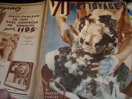 VU 34/ AFFAIRE STAVISKY/ FIN REGIME DOUMERGUE TARDIEU//JOURNALISTES/PEUGEOT /ASSURANCES/CHAMONIX/RADIO/3ème REICH - Livres, BD, Revues