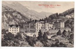 BAD PASSUGG Litho Hotel Kurhaus Gel. 1911 N. Villa Seeheim - GR Grisons