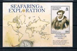 Solomon Islands 2009 - Bateaux Voiliers Explorateurs - BF Neufs // Mnh - Salomon (Iles 1978-...)