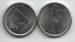 Paraguay 1 Guarani 1980. UNC FAO - Paraguay