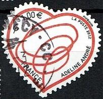 Coeur N°4632 Oblitéré Année 2012 - France