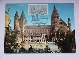 CARTE MAXIMUM CARD DOM  MAINZ  ALLEMAGNE - [7] République Fédérale