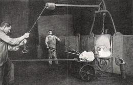 Cinglage De La Loupe Du Four à Puddler Ets Jacob Holtzer  1926 - Non Classés