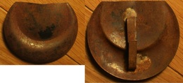1914-18 - Insigne De Casque Adrian Des Spahis - Casques & Coiffures