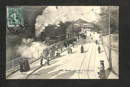 29 - BREST - Avancée De La Porte Foy - La Gare - 1910 - Brest