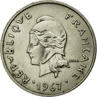 Monnaie, French Polynesia, 10 Francs, 1967, TTB, Nickel, KM:5 - Frans-Polynesië