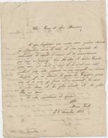 Lettre D'enfant, Une Fille écrit 2 Lettres Pleines D'affection à Ses Parents, Marie Soulé,1858 - Non Classés