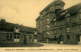 SAINT-WITZ Notre Dame De Montmélian L'entrée Et La Cour D'Honneur - Saint-Witz