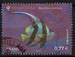 Poisson N°4648 Oblitéré Année 2012 - France