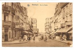 WENDUYNE  Rue De L Eglise ( Voir Scan ) - Wenduine