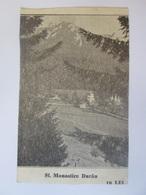 Romania-The Durău Monastery/Neamț,unused Postcard From 1937 - Roumanie