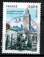 Mosquée De Paris N°4634 Oblitéré Année 2012 - France
